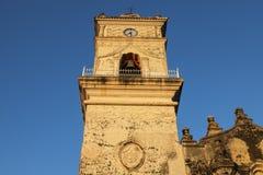 La Merced Church in Granada. Granada, Nicaragua stock image
