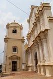 La Merced church in Leon, Nicarag. Ua stock photos