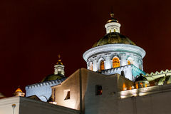 La Merced Church By Night Stock Photo