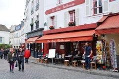 La Mere Catherine bistro, Paris Royalty Free Stock Photo