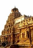 La merveille historique du temple de Chola Photo libre de droits
