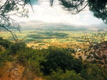 La meseta de Lassithi crete Grecia fotos de archivo libres de regalías