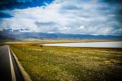 La meseta tibetana Imagen de archivo libre de regalías