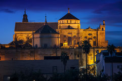 La Mesquita Cathedral at sunset Stock Images