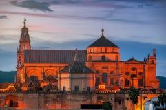 La Mesquita-Kathedrale in Cordoba, Spanien Lizenzfreies Stockfoto