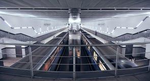 La metropolitana di Mosca Fotografia Stock Libera da Diritti