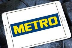 La metropolitana immagazzina il logo Fotografia Stock Libera da Diritti