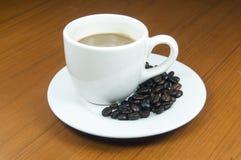 La mezcla caliente del café y alisa Fotografía de archivo libre de regalías
