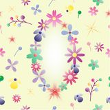 La mezcla florece el fondo imagen de archivo libre de regalías