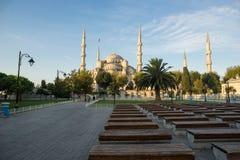 La mezquita azul Imágenes de archivo libres de regalías