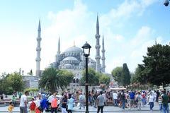 La mezquita azul Fotografía de archivo