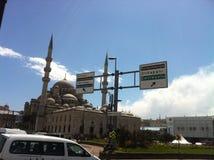 La mezquita azul Fotos de archivo