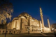 La mezquita azul fotografía de archivo libre de regalías