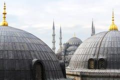 La mezquita azul en Estambul Fotografía de archivo libre de regalías