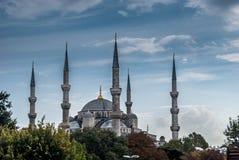 La mezquita azul en Estambul, Turquía Imágenes de archivo libres de regalías