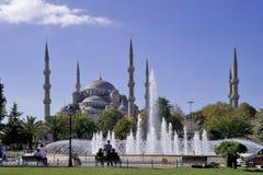 La mezquita azul Estambul Imágenes de archivo libres de regalías