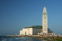 La mezquita de Hassan II Foto de archivo