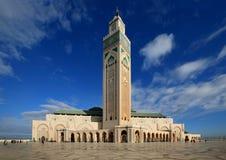 La mezquita de Hassan II Imágenes de archivo libres de regalías