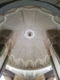 La mezquita de Hassan II - detalles hermosos de la arquitectura y de la decoración fotografía de archivo libre de regalías