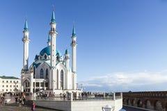 La mezquita de Kul-Sharif Rusia Ciudad de Kazan Fotos de archivo libres de regalías