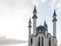 La mezquita de Kul-Sharif Rusia Ciudad de Kazan Imágenes de archivo libres de regalías