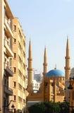 La mezquita de la Al-Amina en Beirut (Líbano) Imagen de archivo libre de regalías