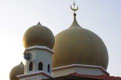 La mezquita de la colina de Penang Imagenes de archivo