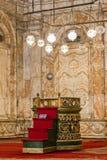 La mezquita de Mohamed Ali en Egipto imágenes de archivo libres de regalías