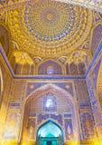 La mezquita de oro Fotos de archivo