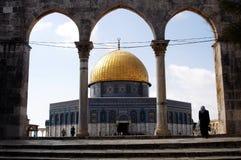 La mezquita de oro de la bóveda Imagenes de archivo