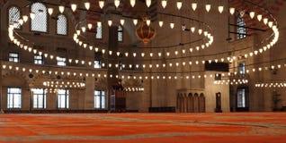 La mezquita de Suleymaniye en Estambul (Turquía) Foto de archivo