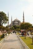 La mezquita en Estambul nombró Hagia Sophia Imagenes de archivo