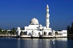 La mezquita flotante Fotografía de archivo libre de regalías