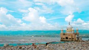 La mezquita flotante imagen de archivo libre de regalías