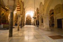 La-Mezquita-Kathedrale in Cordoba, Spanien Die Kathedrale wurde errichtet Lizenzfreie Stockfotos