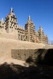 La mezquita más grande del fango, Djenne imágenes de archivo libres de regalías