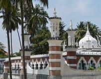 La mezquita malasia de Jamek en Kuala Lumpur Imagenes de archivo