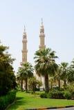La mezquita musulmán, Shardjah Foto de archivo