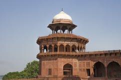La mezquita Taj Mahal en Agra la India Fotos de archivo