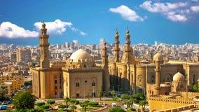 La mezquita vieja est? situada en El Cairo, la capital de Egipto almacen de video