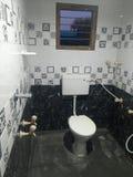 La mia bella progettazione domestica del bagno fotografia stock libera da diritti