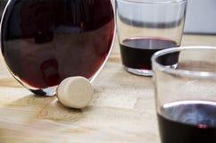 La mia bottiglia di vino Fotografia Stock Libera da Diritti
