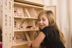 La mia casa di bambole Fotografie Stock Libere da Diritti