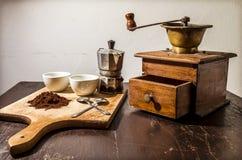 La mia interpretazione della pausa caffè Fotografia Stock Libera da Diritti