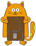 La mia presa del mouse royalty illustrazione gratis