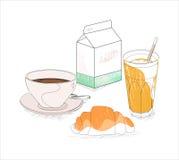 La mia prima colazione Immagine Stock
