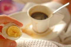 La mia prima colazione Immagini Stock