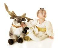 La mia renna! Fotografie Stock