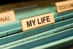La mia vita Fotografie Stock Libere da Diritti