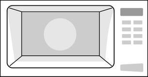 La microonda Immagini Stock
